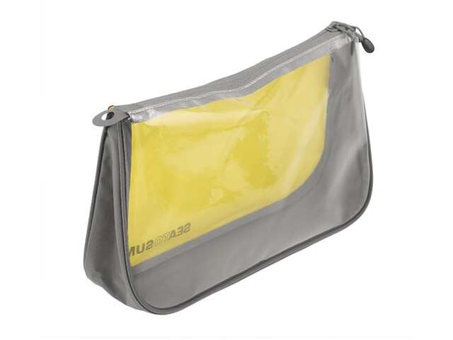 Sea to Summit See Pouch Talla M, lime/grey
